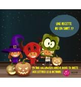 LA Box Culinaire Octobre - Halloween ! Des recettes ou un sort !
